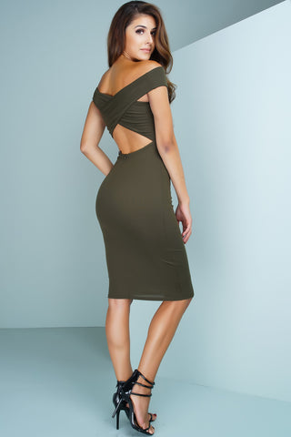 Made For You Dress - Olive - WantMyLook