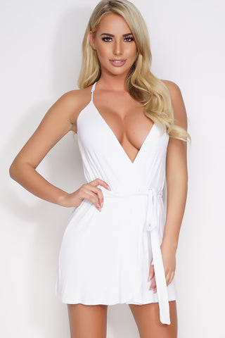 Tyra Ballet Dress - White - WantMyLook