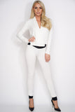 Nikki Terry Jogger - Cream - WantMyLook