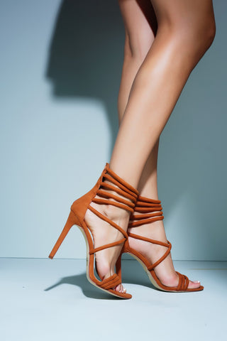 Tia Heels - Tan - WantMyLook