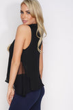 Stephanie Tank - Black - WantMyLook