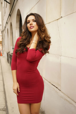 Dana Dress - Red - WantMyLook