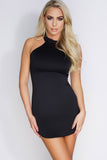Tasha Mini Dress - Black - WantMyLook