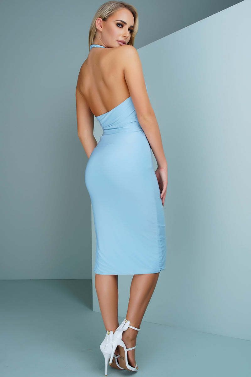 Jaylene Dress - Blue - WantMyLook