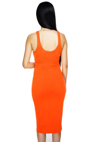 Vanessa Dress - Orange - WantMyLook
