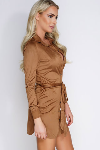 Karen Dress - Tobacco