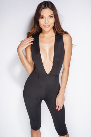 Rona Jumpsuit - Black - WantMyLook
