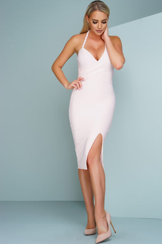 Jaylene Dress - Pink - WantMyLook
