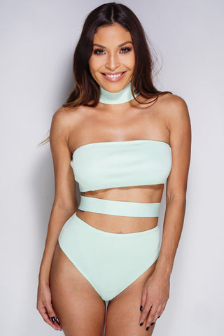 Monique Bodysuit - Mint