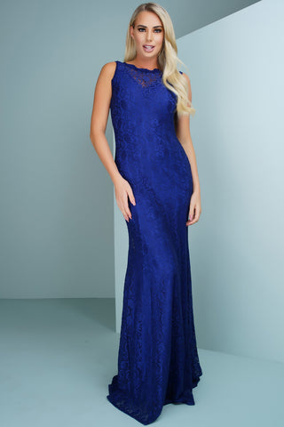 Daniella Lace Gown - Blue