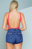 All American Denim Short - WantMyLook