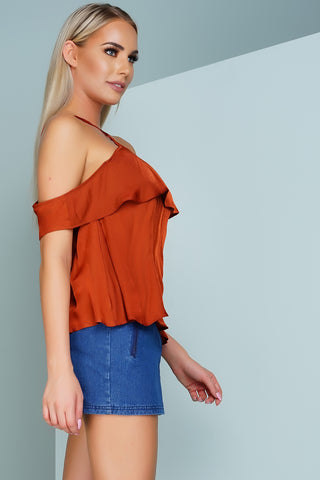 Lolo Blouse - Brown