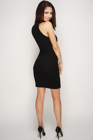 Tricia Knit Dress - Black