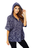Perfect Poncho - Navy