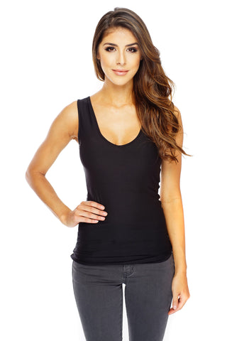 Essential Black Tank