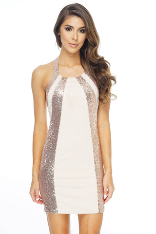 Megan Sequin Dress - WantMyLook