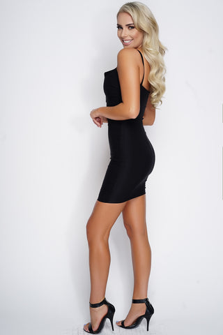 Cara Mini Dress - Black