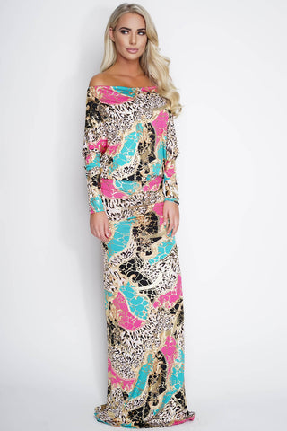 Taylor Gown - Jungle Print - WantMyLook