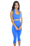 Whitney Workout Pants - Blue