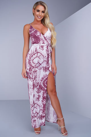 Gemini Maxi Dress - Mauve