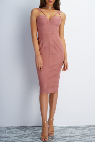 Risky Behavior Dress - Mauve
