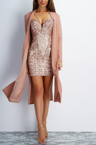 Radiance Dress - Rose Gold