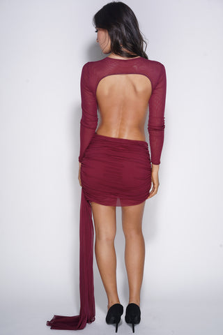All About You Dress - Wine - WantMyLook