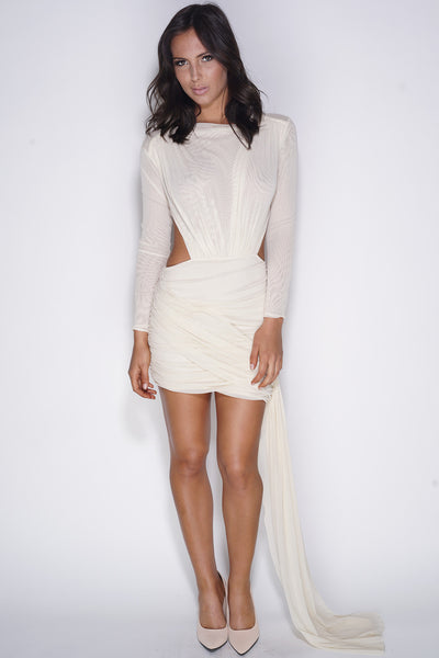 All About You Dress - Ivory - WantMyLook