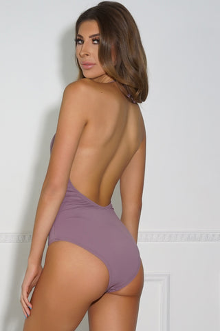 Nakia Swim One Piece - Purple