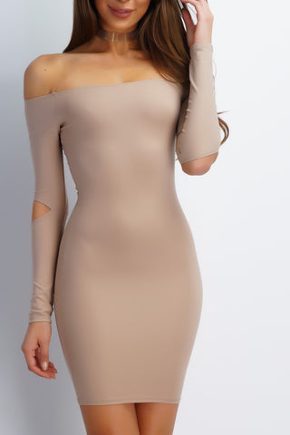 Joelle Dress - Nude