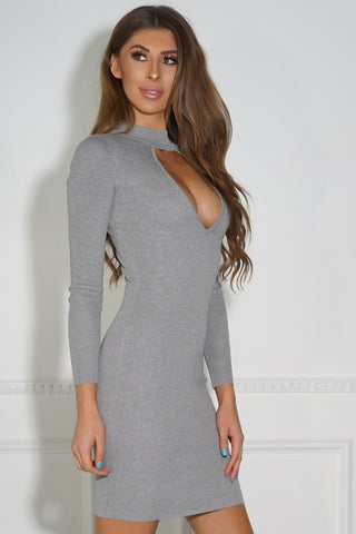 Logan Dress - Grey