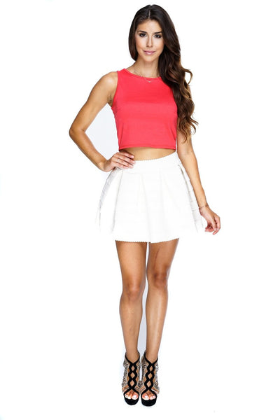 Lola Skirt - Ivory - WantMyLook