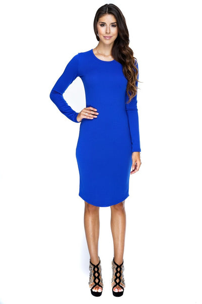 Abby Dress - Royal Blue - WantMyLook