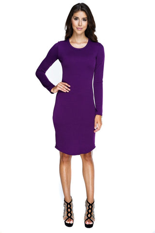 Abby Dress - Purple - WantMyLook