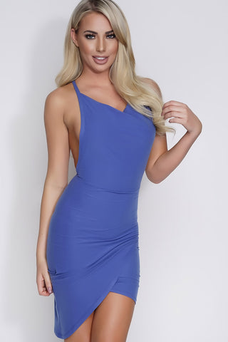 Denise Dress - Blue