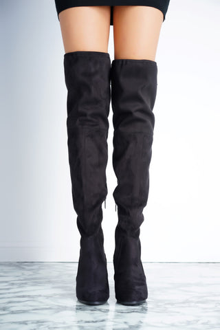 Jamie Boot - Black - WantMyLook