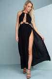 Ropel Maxi Dress - Black