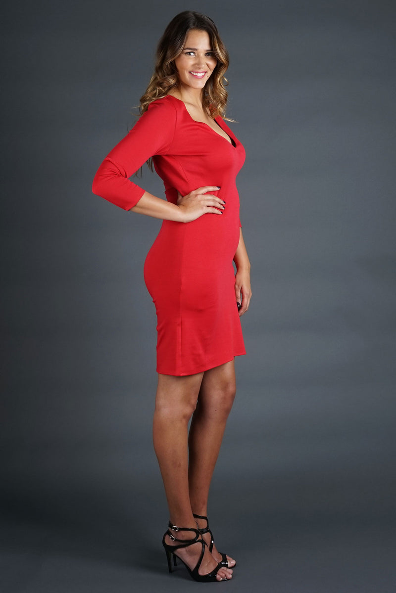Rebecca Dress - Red