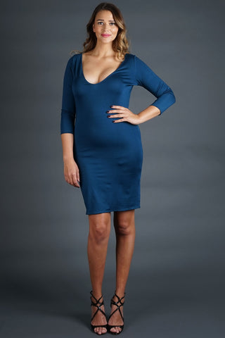 Rebecca Dress - Teal