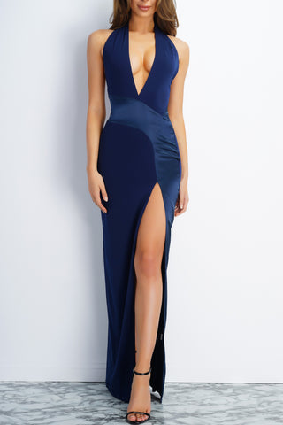 Tayla Dress - Navy