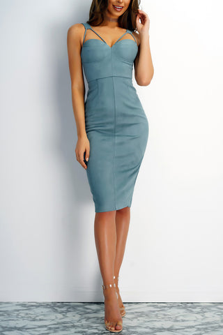 Risky Behavior Dress - Blue