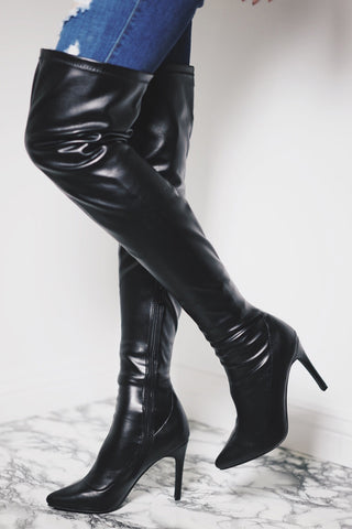 Amy Boots - Black - WantMyLook