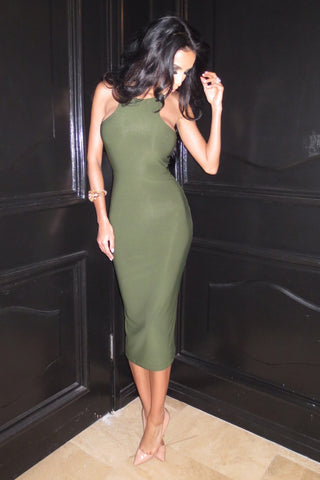 Vanessa Dress - Green - WantMyLook