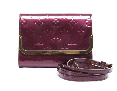 Louis Vuitton Rouge Fauviste Vernis Rossmore PM Bag