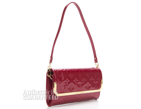 Louis Vuitton Red Vernis Rossmore MM Bag
