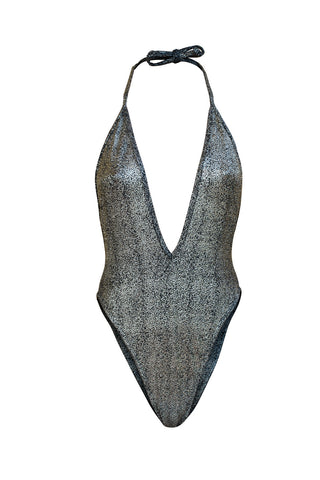 Stardust One Piece Swim - Silver