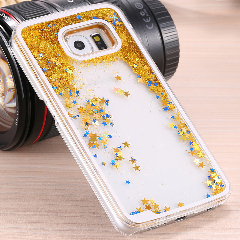 Star Glitter Waterfall Case - GALAXY S6 - WantMyLook