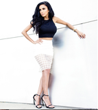 Cage Skirt - White - WantMyLook