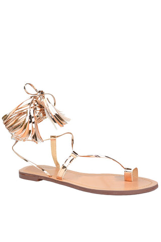 Dina Sandals - Rose Gold