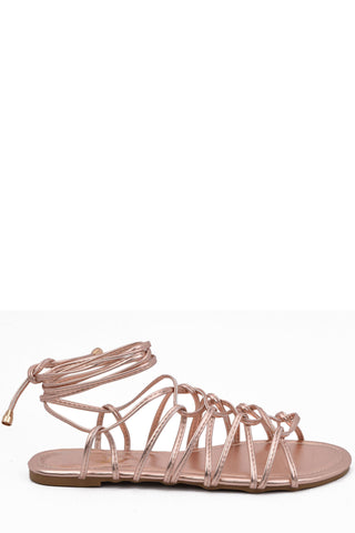 Luminous Night Sandals - Rose Gold